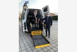 Cerimonia consegna veicolo trasporto sociale MARZO 2021