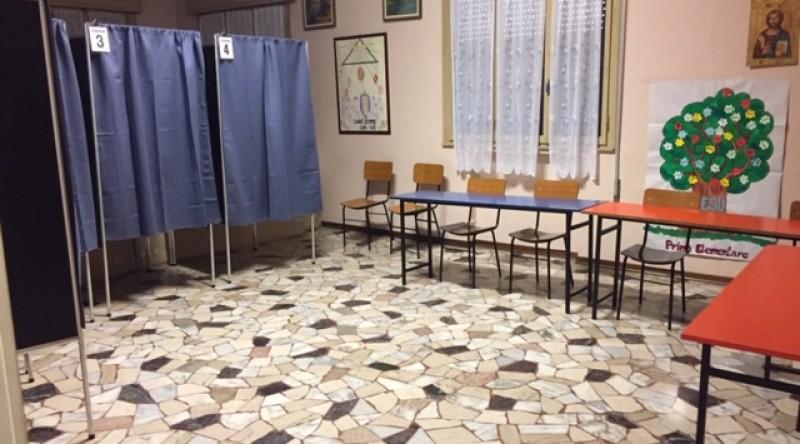 Spostamento seggi elettorali (4 foto)